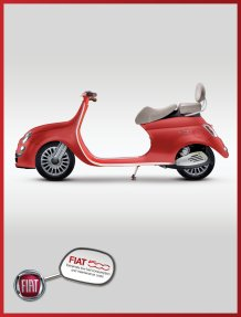 Fiat Scooter Advertisement