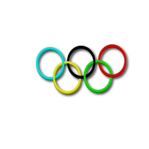 Olympic Rings made in class using Adobe Illustrator