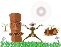 African Symbol Art